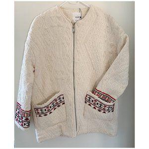 🆕 Mango embroidered boho tribal jacket